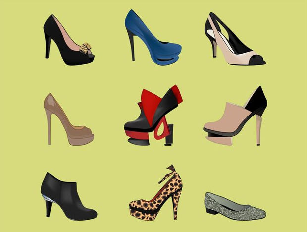 High Heels Fashion Vector
