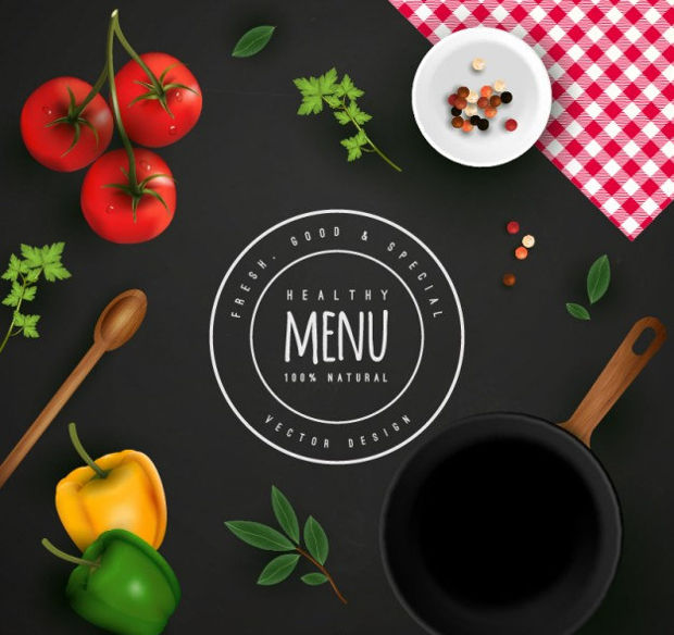 Healthy Menu Vector
