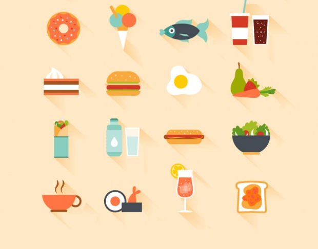 Favorite Meals Vector
