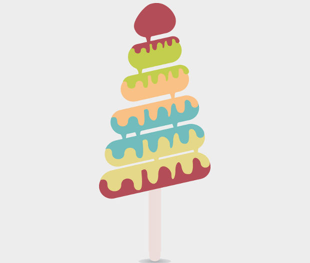 Free Melting Ice Cream Vector