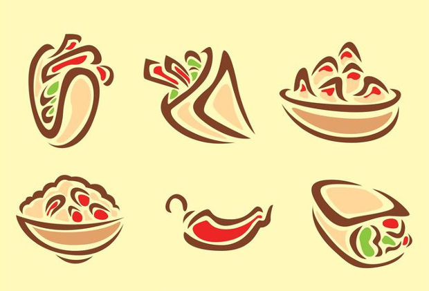 Mexican Food Vectors
