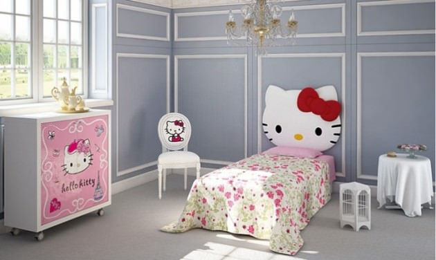 Cute Kitty Room Design