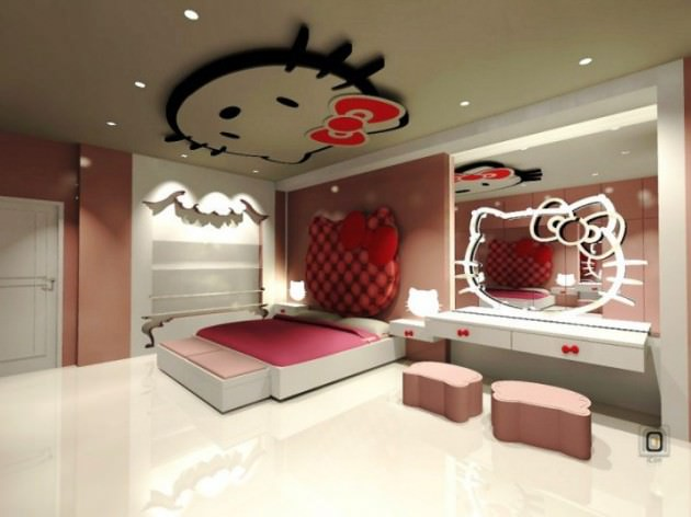 Dreamful Kitty Room Design