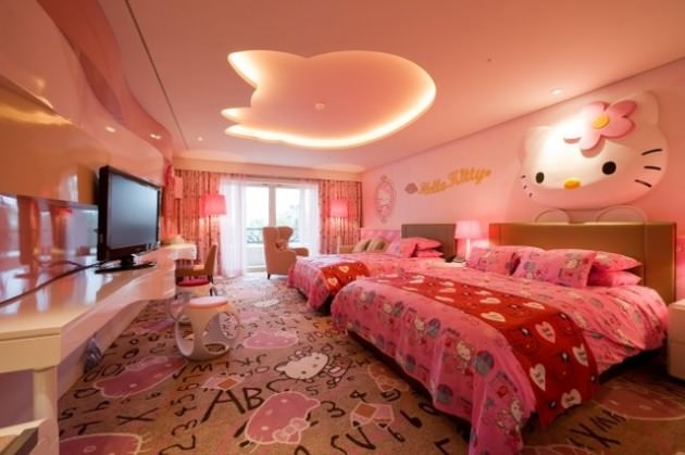 Kitty Bedding Room Design