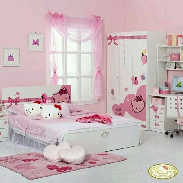 My Daughter Kitty Room Design