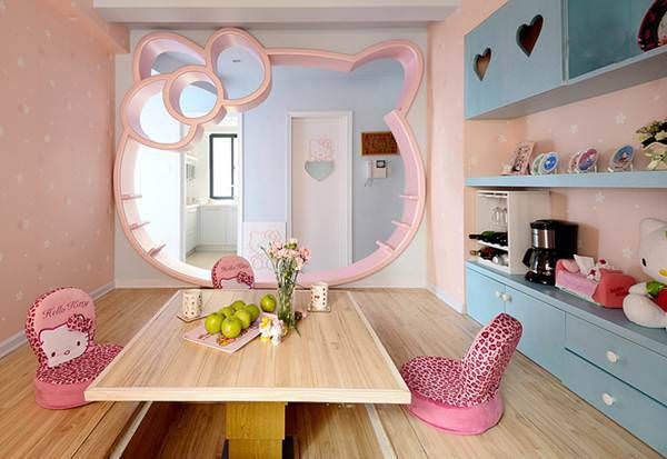 Play Doh Kitty Room Design