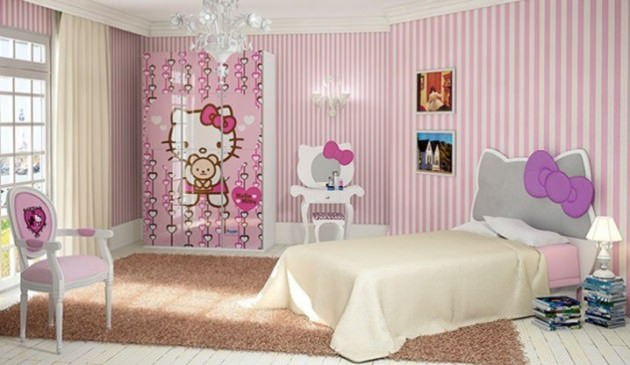 Poster Print Kitty Room Design