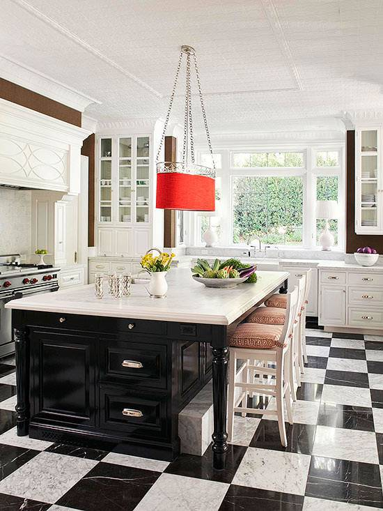 Eclectic Traditional Kitchen Design