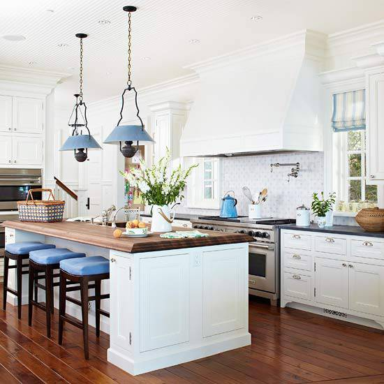 Open Traditional Kitchen Design