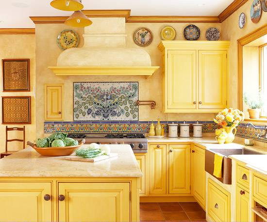 Traditional Bold Kitchen Design