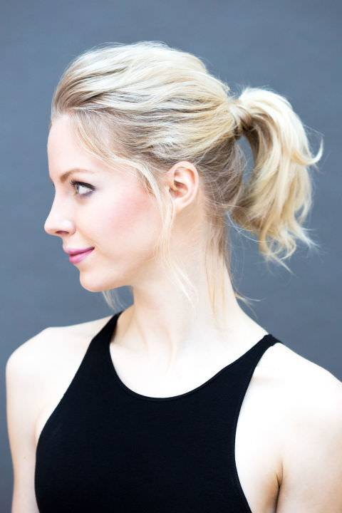 Sweeping Up Chic Hair Style Design