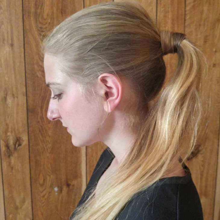 Blonde Pony for Medium Hair