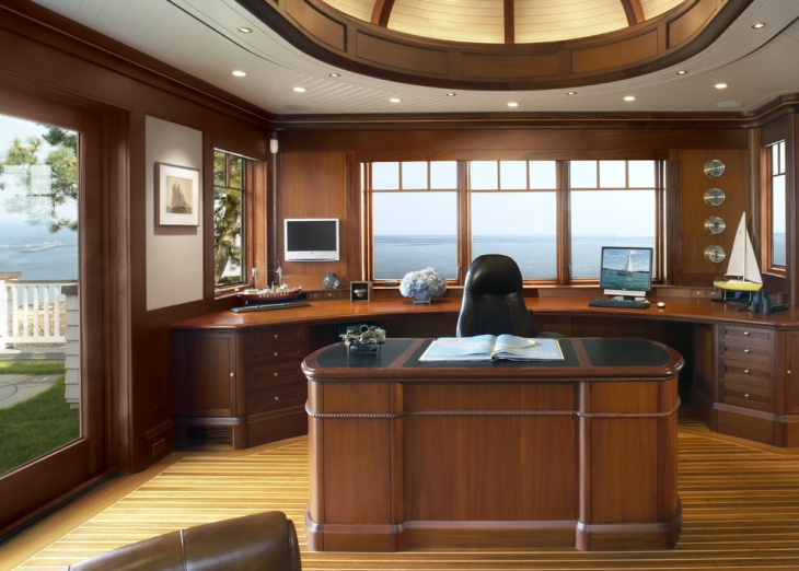 20+ Masculine Home Office Designs, Decorating Ideas | Design Trends ...