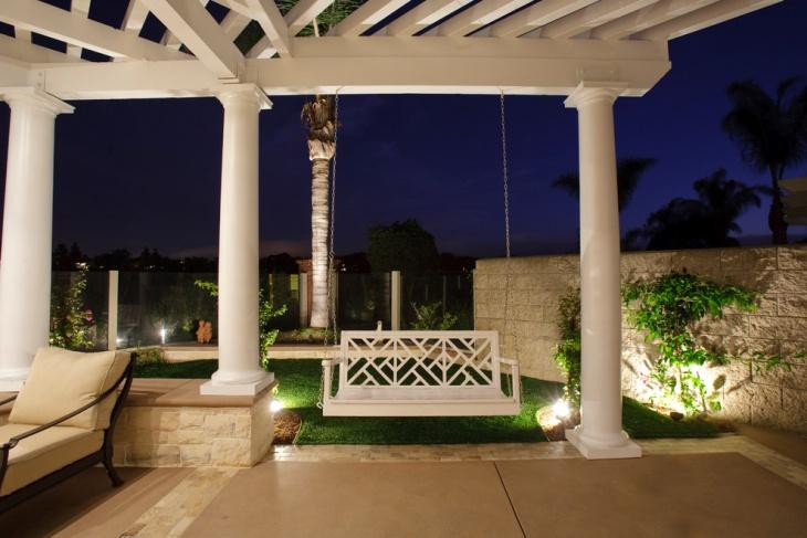 custom handcrafted porch swing