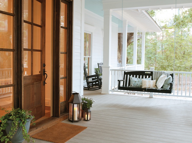 traditional porch swing plan