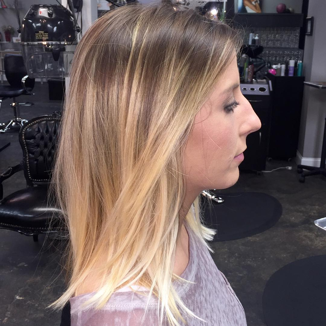 medium smooth hair cut design
