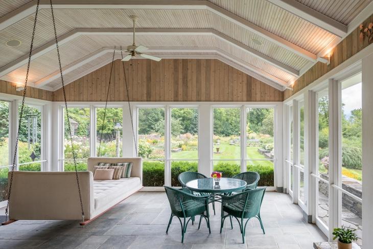 Retro Porch Swing Of Handmade