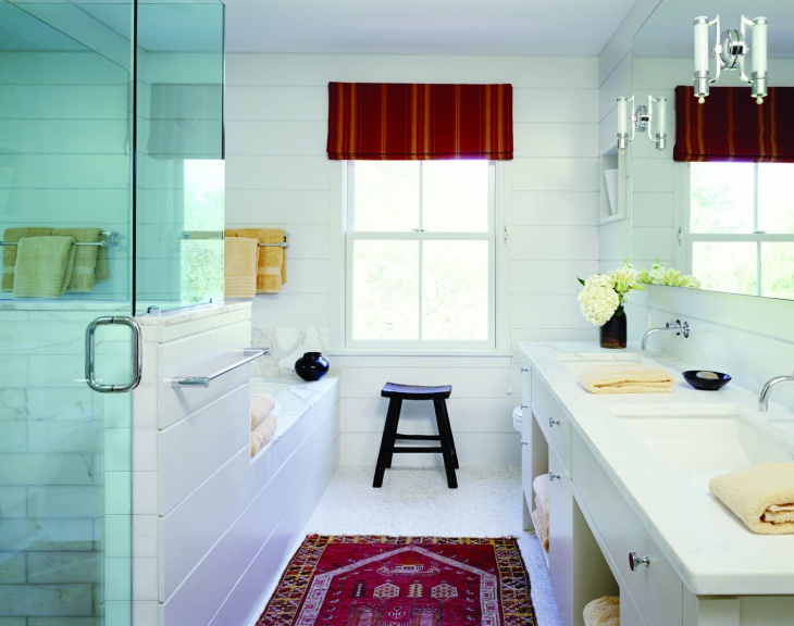 white tiles small bathroom idea