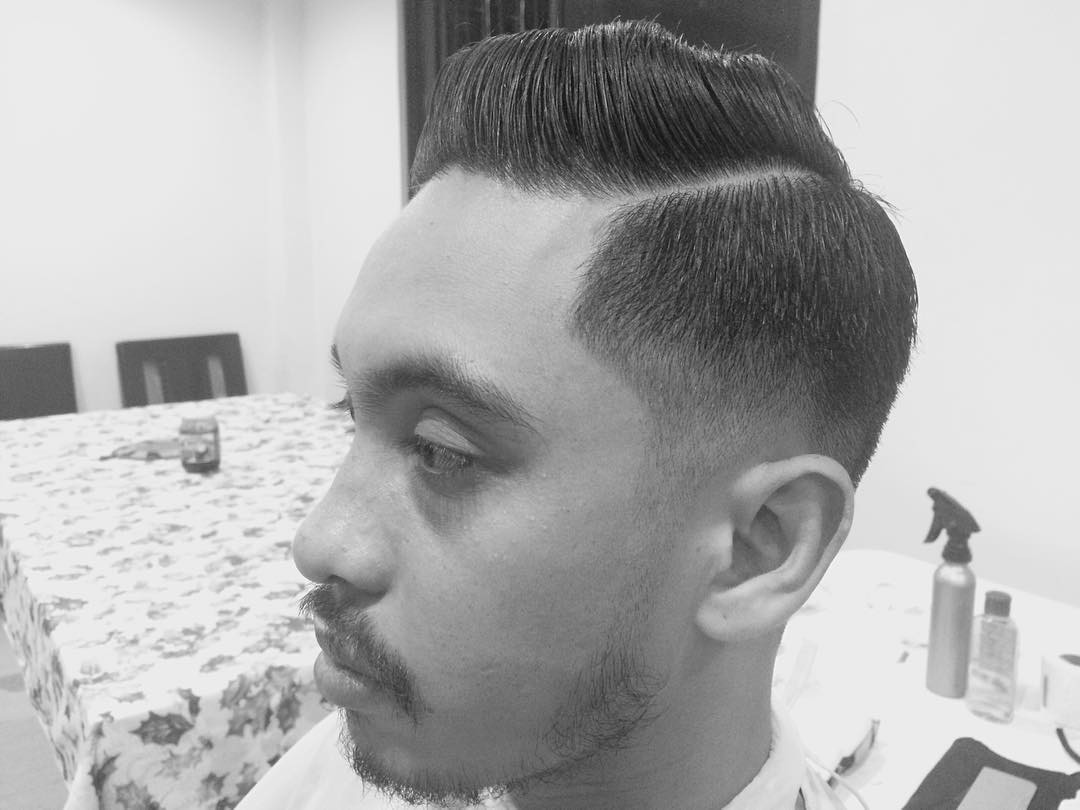 classic fade comb over haircut1