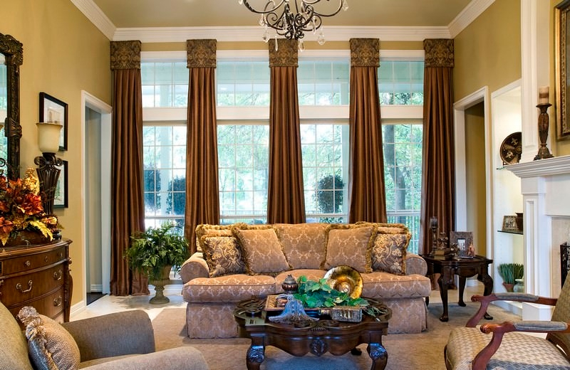 natural woven window design