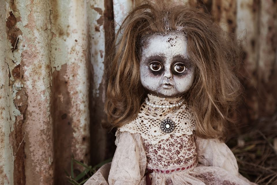 Creepy Doll Background