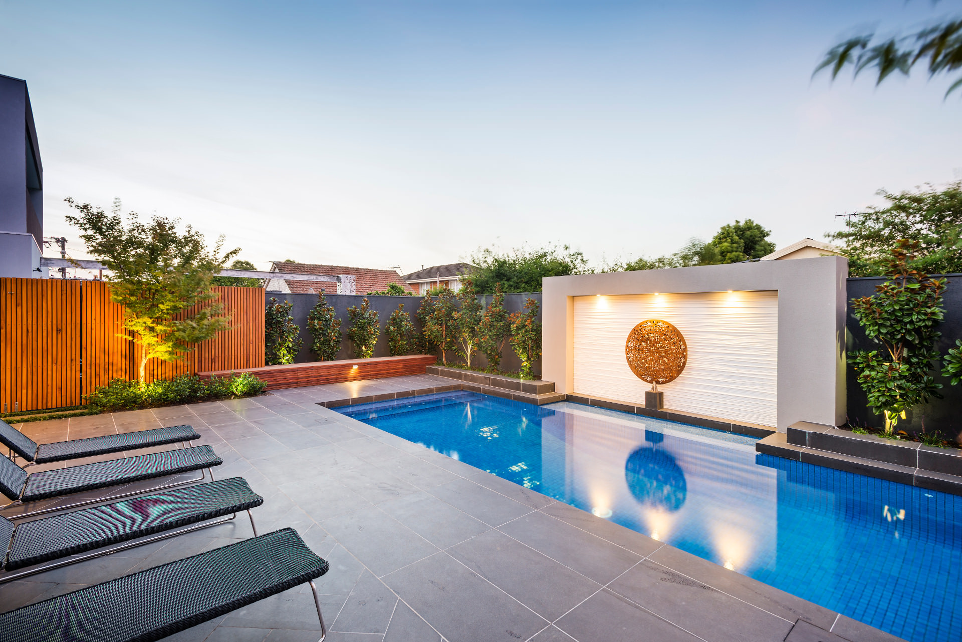 28 pool landscape designs decorating ideas design for Landscape design melbourne