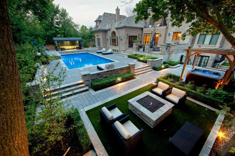 Commercial Pool Landscape Design
