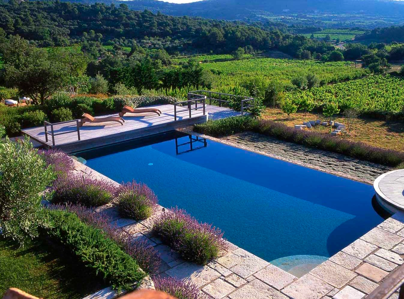 28 pool landscape designs decorating ideasdesign trends - Swimming Pool Landscape Designs