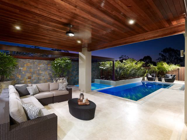 Pool Landscape Design In Contemporary