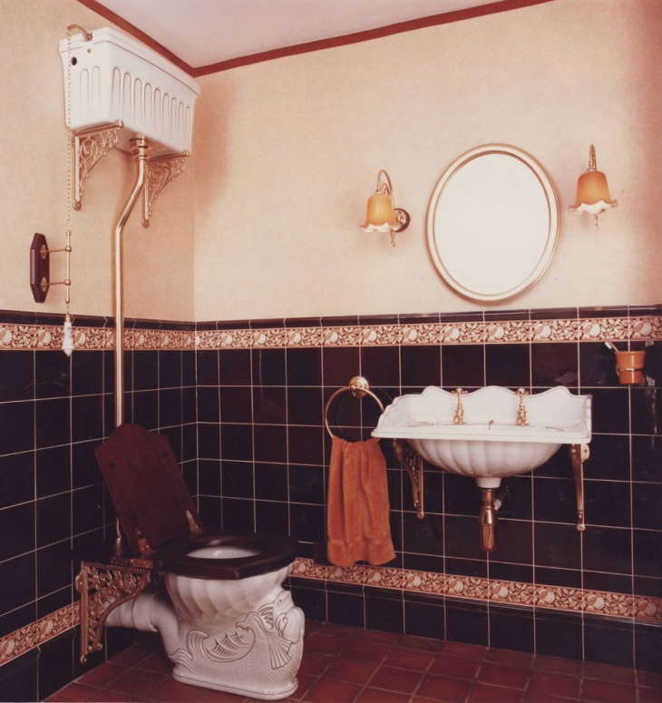 20 Vintage Bathroom Designs Decorating Ideas Design
