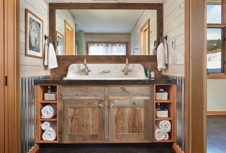 Old Style Contemporary Bathroom