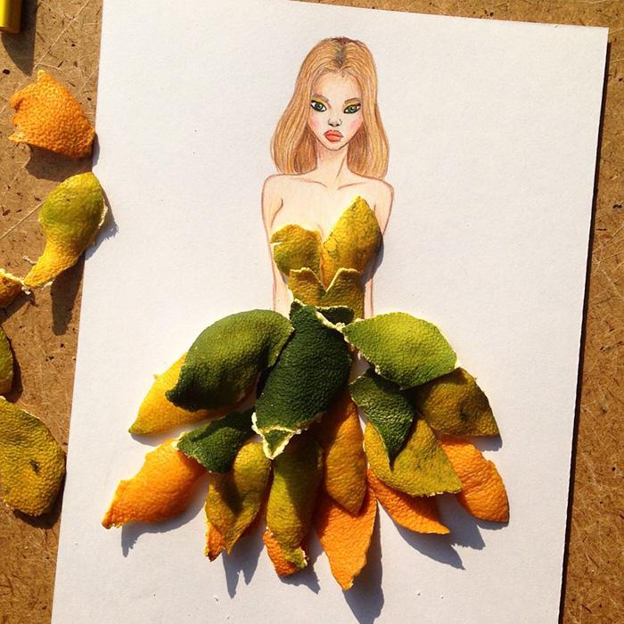 paper cutout art fashion dresses edgar artis 53