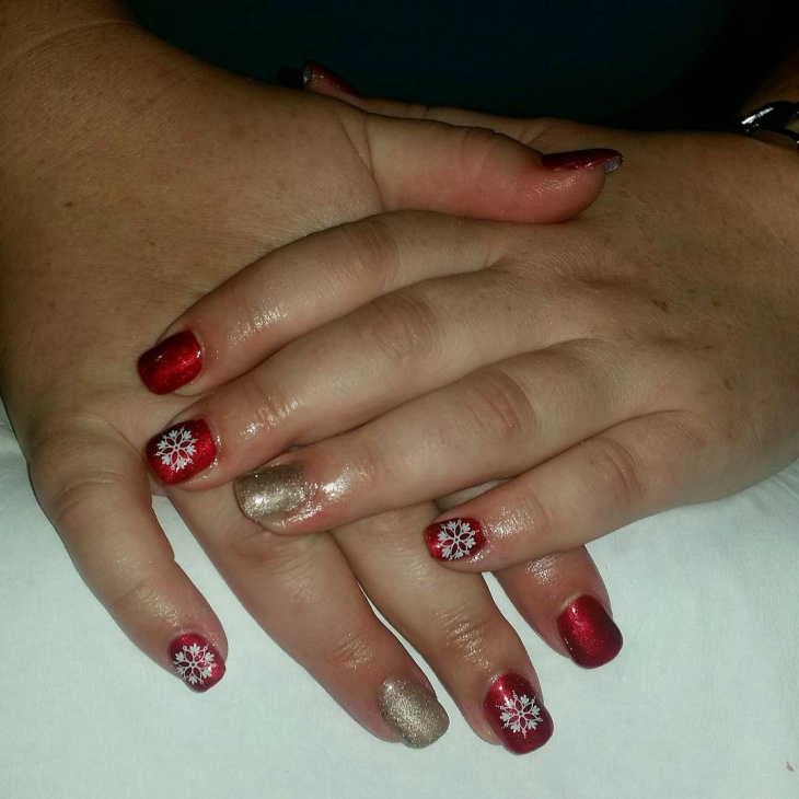26 red and gold nail art designs ideas design trends
