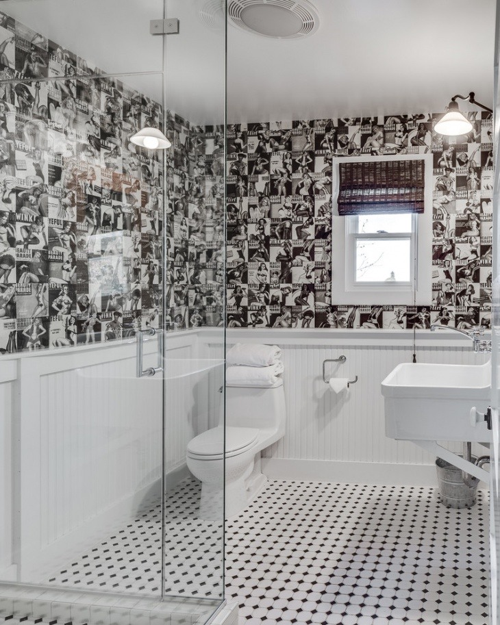 Unique Bathroom Wall Tiles