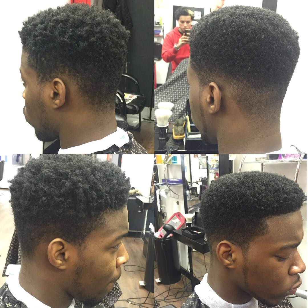 Afro Fade Haircut