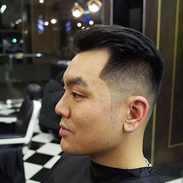 Asian Fade Haircut Design