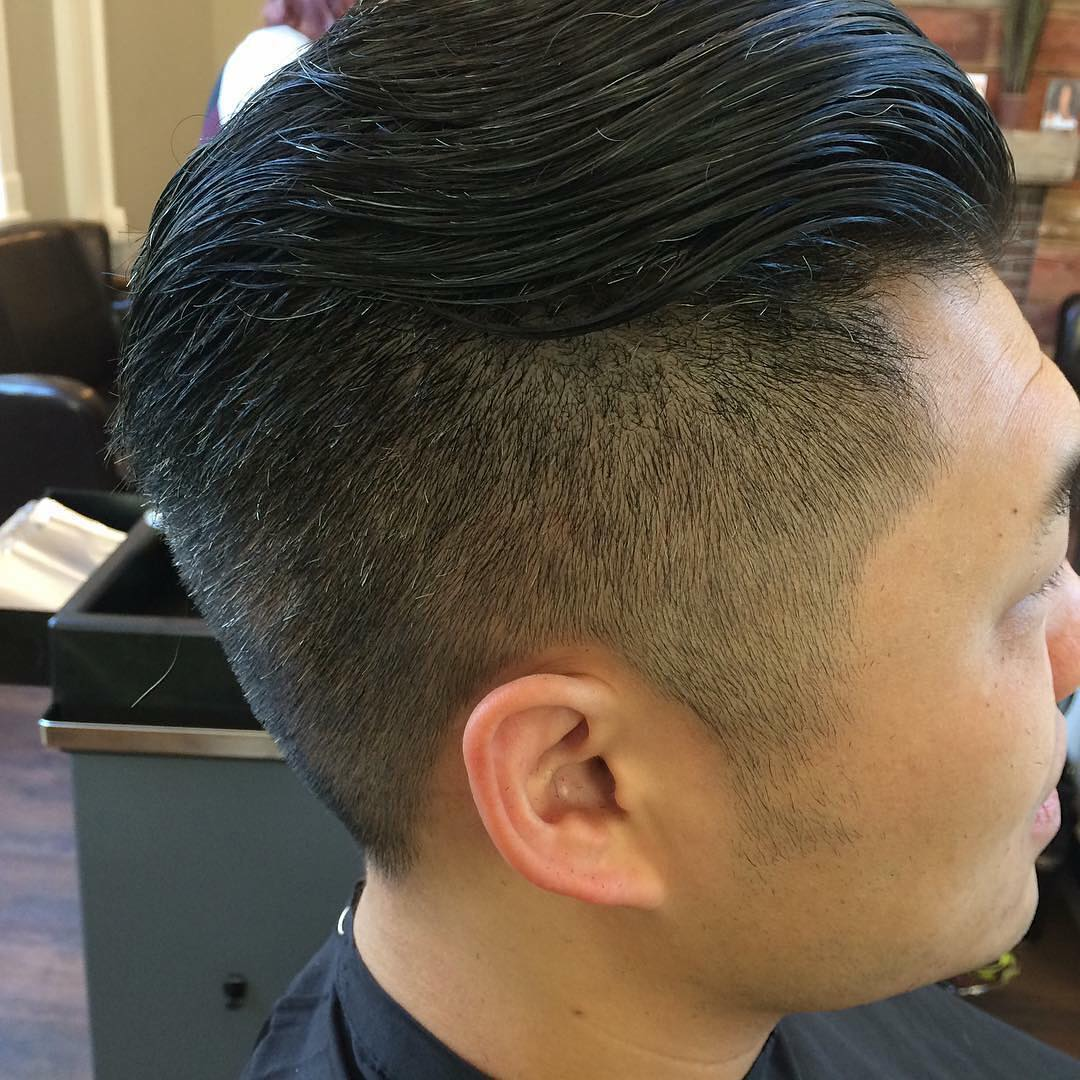 Asian Fade Hairstyle