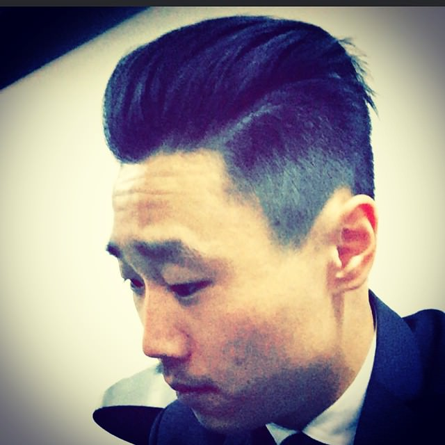 Asian fade Haircut