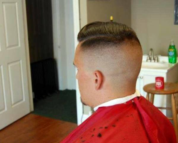 Bald Fade Hircut