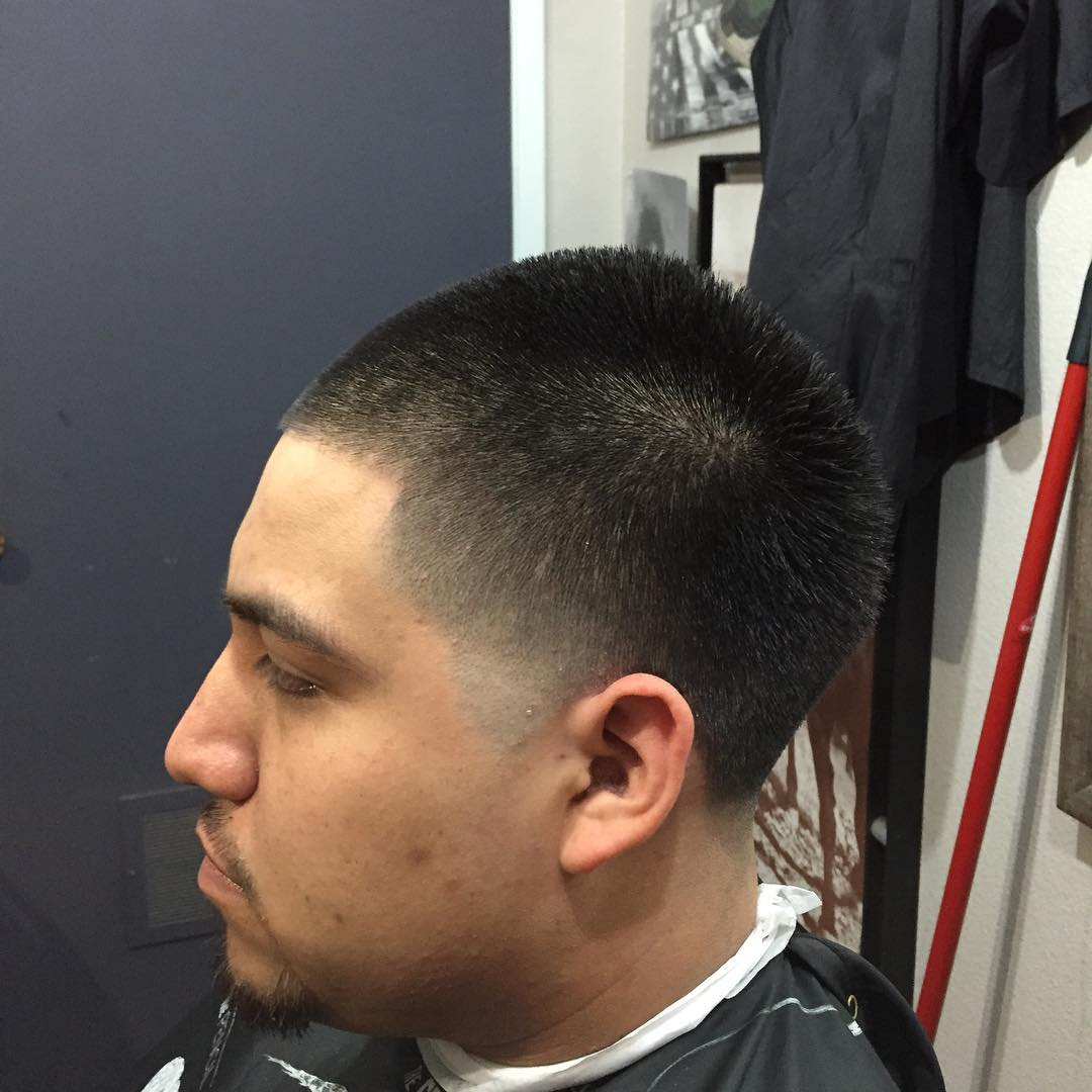 Booty Fade Hairstyle