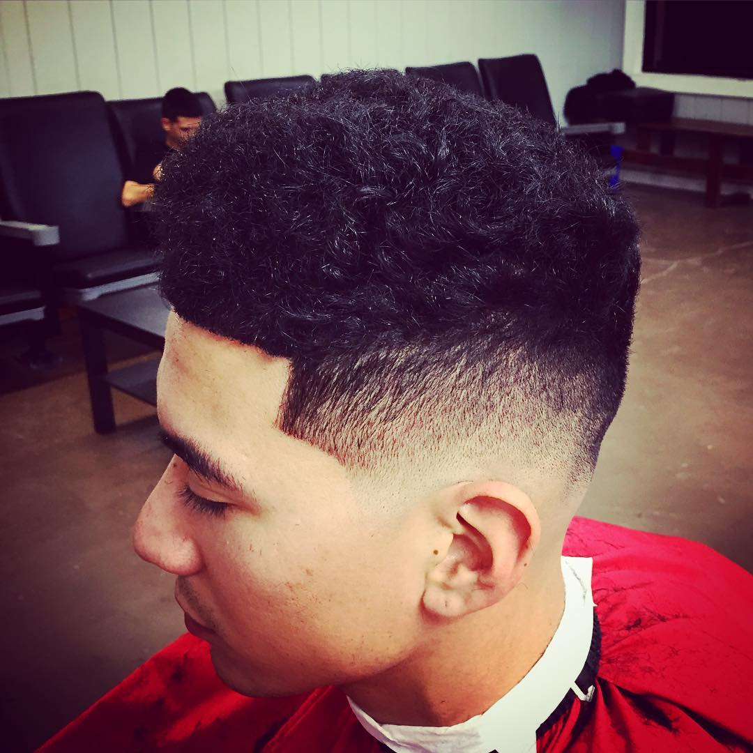 Box Fade Hairstyle