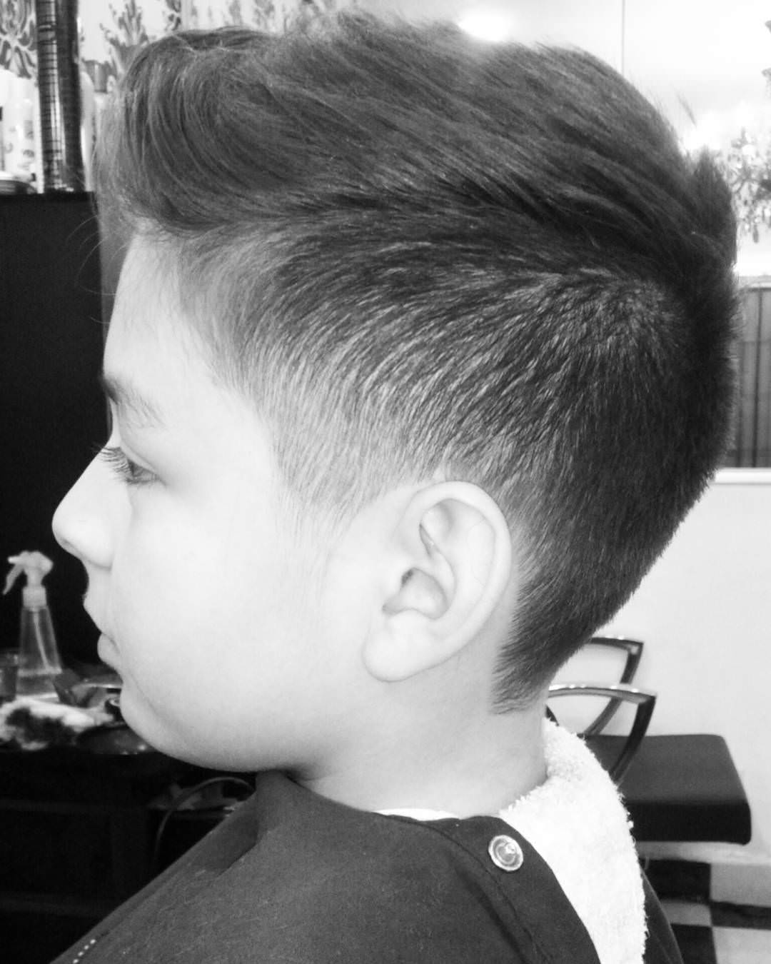 Boys Fade Haircut