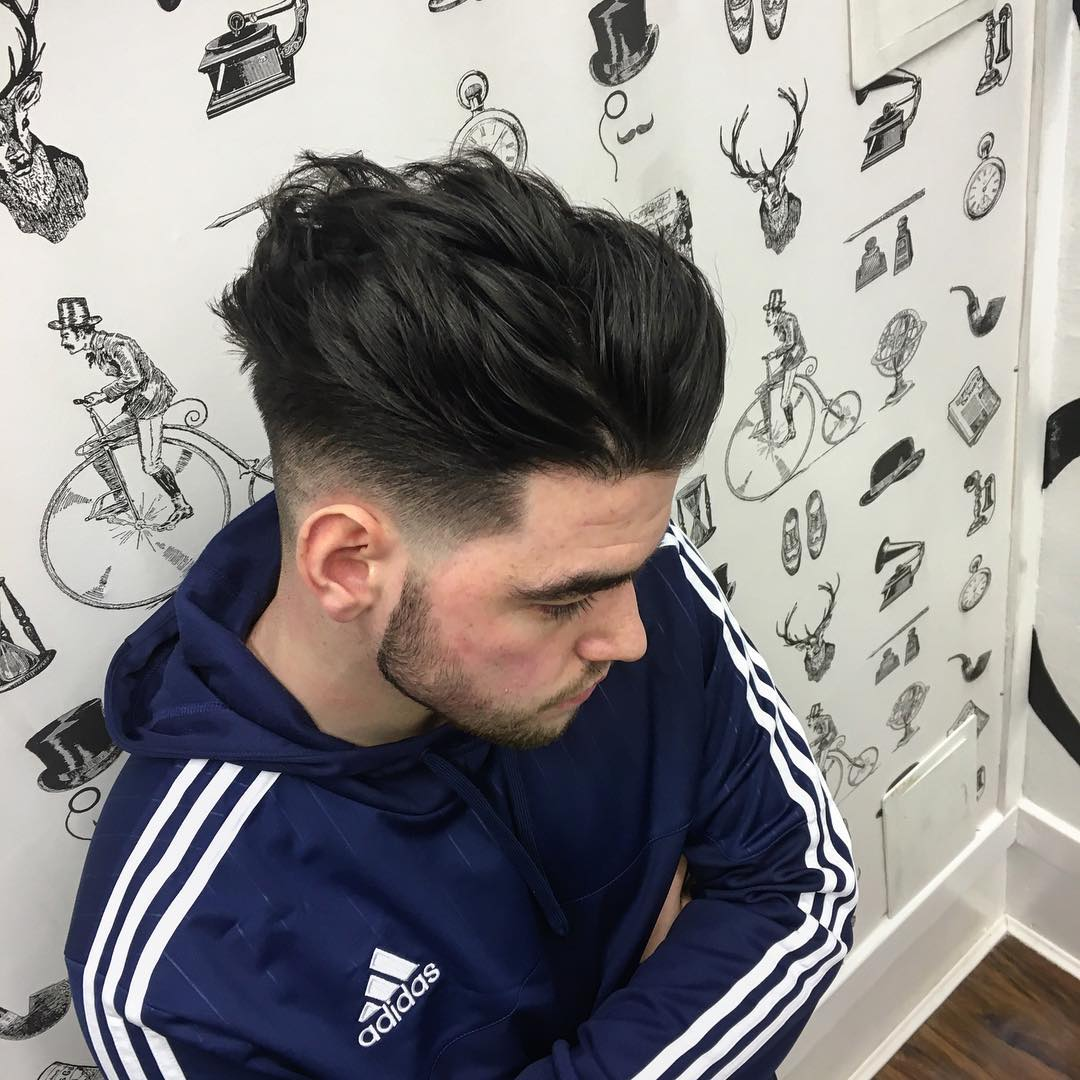Drop Fade Hairs Style