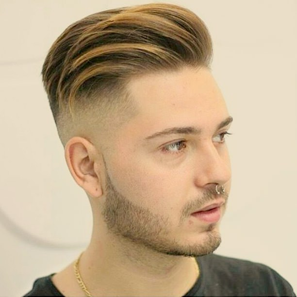 Fade Haircut for White Men