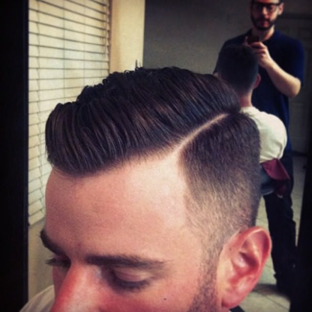 High Fade Haircut Design3
