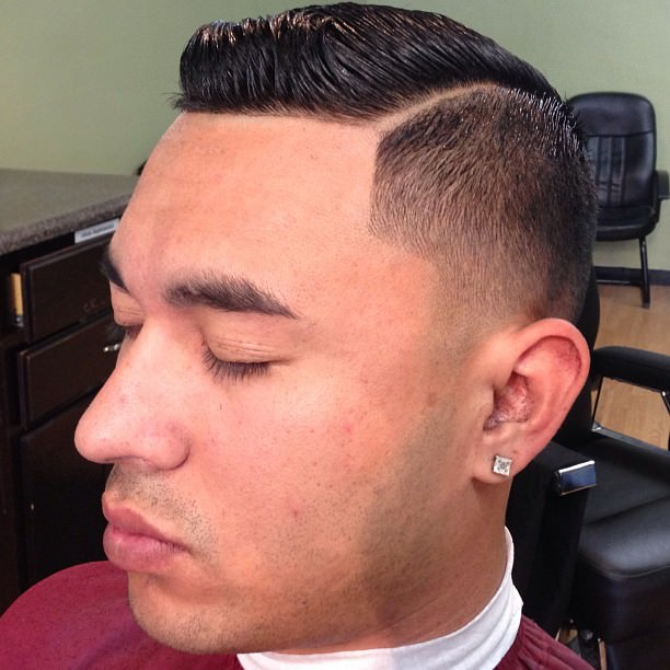 High Taper Fade Hair Style