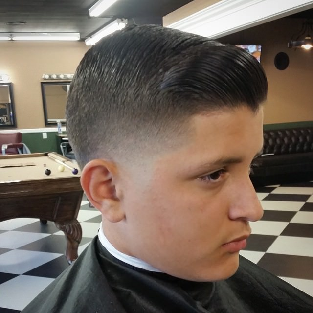 High Taper Fade Hair