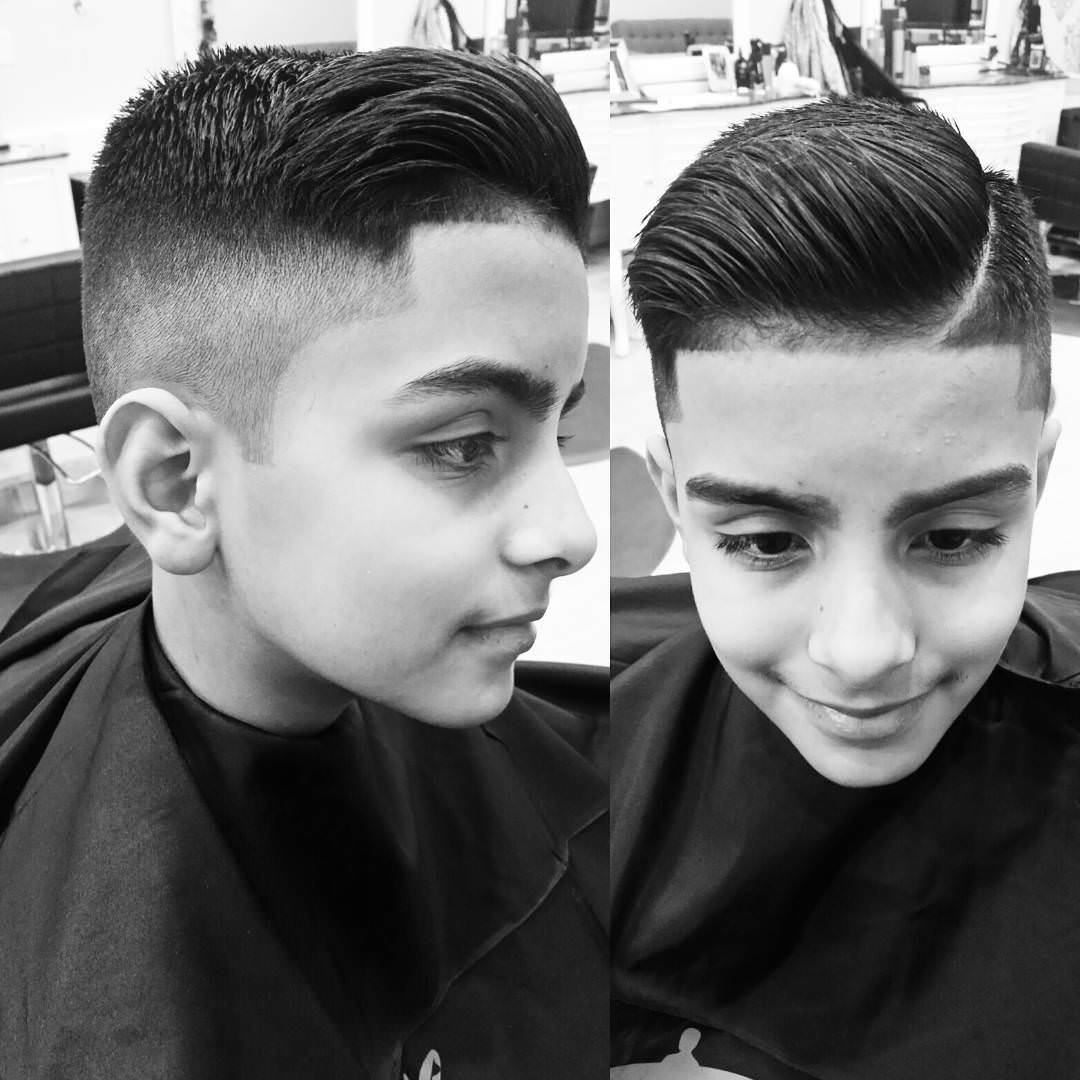 Hiigh and Tight Fade Hair Style