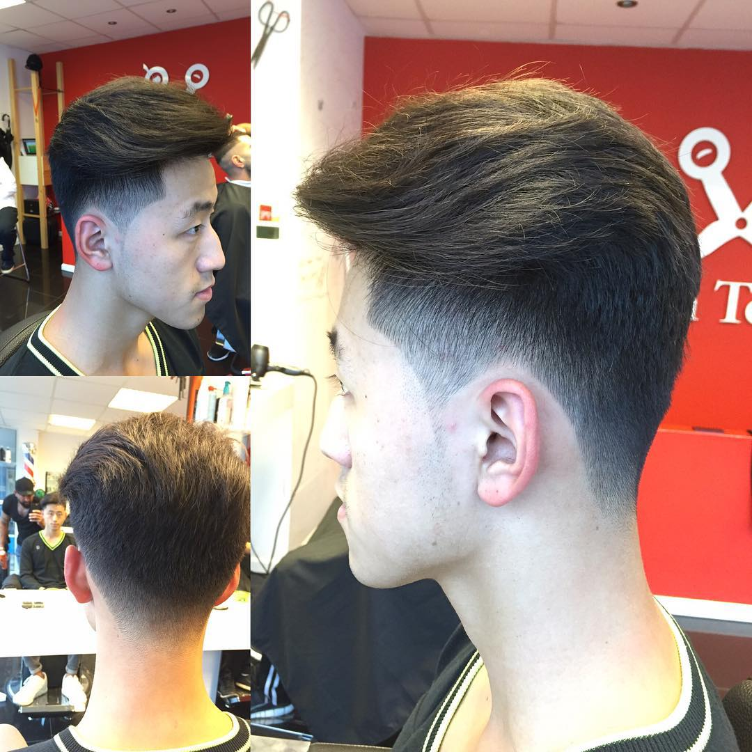 Long Fade Haircut Design