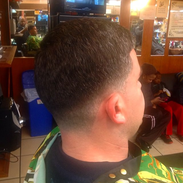 Low Cut Fade Hairstyle